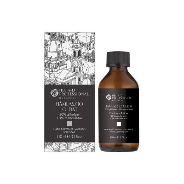 Helia-D Professional Budapest Hámlasztó Oldat 20% Glikolsav + 1% Mandulasav 110 ml