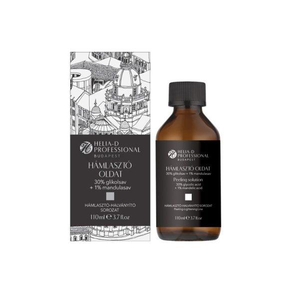 Helia-D Professional Budapest Hámlasztó Oldat 30% Glikolsav + 1% Mandulasav 110 ml
