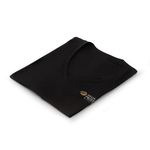 Kozmetikus poló XXL fekete Helia-D Professional logóval