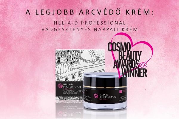 Cosmo Beauty Awards 2018 nyertes termékünk