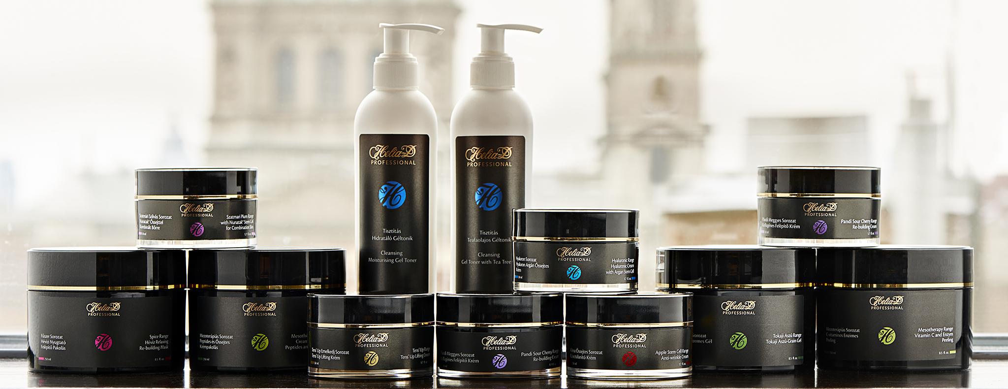 Helia-D Professional termékek